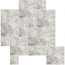 London Grey French Pattern