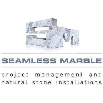seamless marble logo